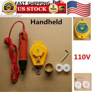 Handheld Electric Bottle Capping Machine Screw Capper Sealing Machine Fast Ship