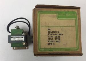 Ge Cr9500a101b6a Solenoid 115v 50hz Pull Type Right Mtg