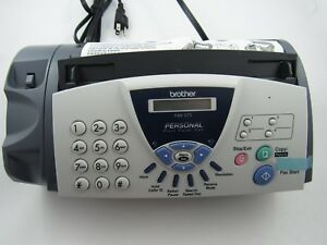 Lot Of 2 Brother Fax 575 Personal Fax Machine