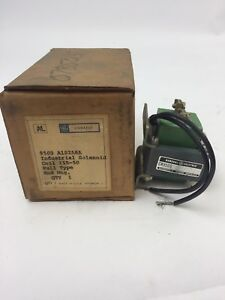 Ge Cr9500a102a6a Solenoid 115v 50hz Pull Type End Mtg