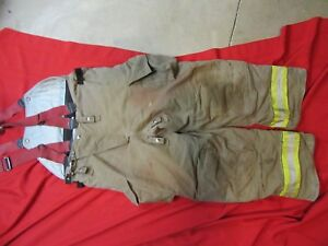 2005 Cairns Rs1 Firefighter Turnout Bunker Pants 40 X 30 Halloween Costume Gear