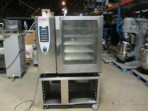 Rational Scc 102g 10 Pan Capacity Natural Gas Combi Oven