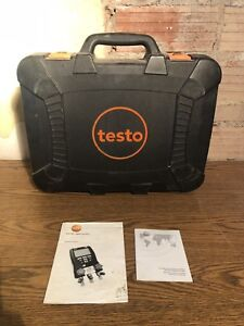 Testo 550 Heavy Duty Replacement Case used Free Ship