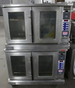 Double Stack Convection Oven Electric Multi Tap 208v