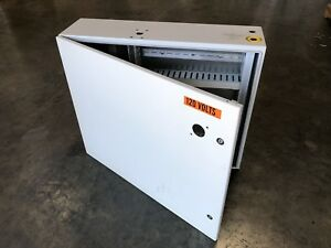 Electrical Enclosure Box Metal Latched Hinged Cover 30 X 24 X 9