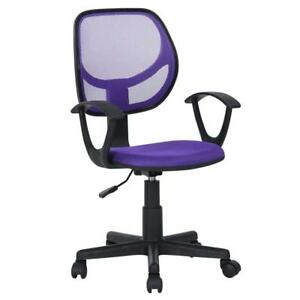 Greenforest Kid s Desk Chair With Armrest Mid Back Support Office Chair For