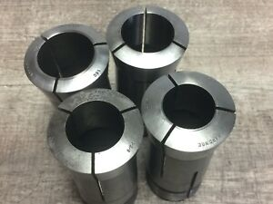 Nice Lot Hardinge 16c Collet Collets 1 3 8 1 1 4 1 7 16 1 1 2