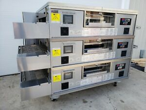 2014 Middleby Marshall Ps770 Wow Triple Stack Conveyor Ovens 32 Belt Width