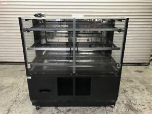 48 Dry Glass Bakery Display Case Wire Rack 8913 Donut Bread Retail Self Serve