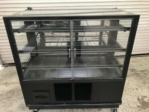 48 Dry Glass Bakery Display Case Wire Rack 8914 Donut Bread Retail Self Serve