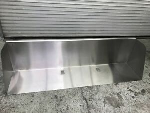 78 X 18 Stainless Steel Wall Shelf 8921 Nsf Mount Dish Storage Over Head Sink