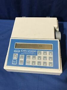 Hach 44800 00 Dr 2000 Direct Reading Spectrophotomoter Water Analysis Usa