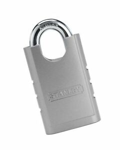 Stanley Hardware S828 152 Cd8820 Shrouded Hardened Steel Padlock In Silver 5