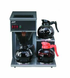 Wilbur Curtis Commercial Pourover Coffee Brewer 64 Oz Coffee Brewer 3 Statio