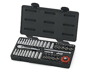 Gearwrench Kd 80300 51 Piece 1 4 Drive 6 Point Socket Set Brand New