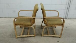 Gilbert Rohde Heywood Wakefield Arm Chair Vintage Original