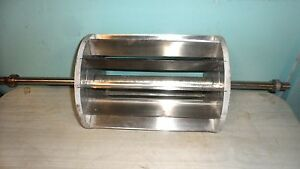 Hd Commercial moline 100 Stainless Steel Dough Roller Rotary Strip Cutter