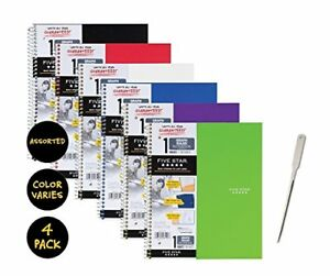 Five Star Spiral Notebook 1 Subject Graph Ruled Paper 100 Sheets 11 X Color