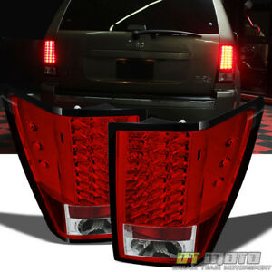 2007 2010 Jeep Grand Cherokee Lumileds Led Tail Lights Lamp 07 08 09 10