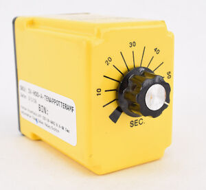 Potter Brumfield Amf Cdd 38 4002 0 6 60 Sec Adjustable Time Delay Relay switch