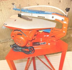 Hegner Multimax 2 Universal Precision Scroll Saw With Stand 1983