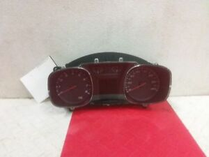 12 2012 Chevy Equinox Speedometer Cluster Without Lane Departure Warning Oem