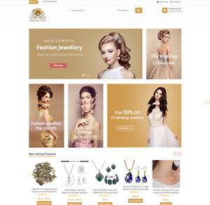 Established Profitable Jewelry Turn key Online Business Website For Sale