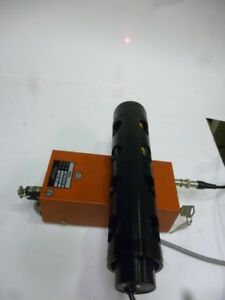 Used Fully Operational Nec Gls5323b He ne Laser With Power Supply l561