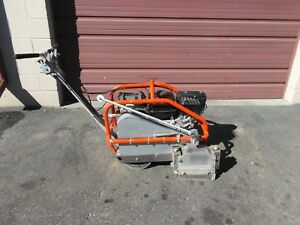 2015 Husqvarna Soff cut X2000e Walk Behind Concrete Saw Low Hrs Mk