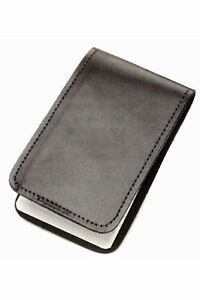 2 Pack Police Black Leather Duty Memo Book Note Pad Holder Cover Case Sleeve 3x5