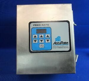 Schenck Accurate Bulk Solids Metering Feed Rate Control W 8022 095