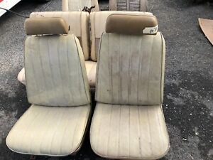 1969 1970 1971 1972 Chevelle Gto Cutlass Power Bucket Seats