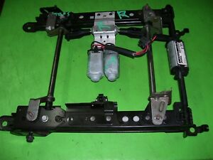 08 C6 Corvette Seat Track Tracks Power Motors Rh Right Adjust