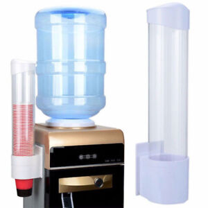 Pull Water Cup Dispenser Disposable Paper Beverage Cup Dispenser 80 Cups Holder