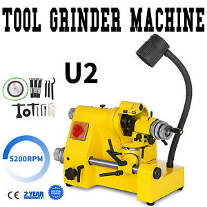 U2 Universal Tool Cutter Grinder Machine Drill Bits Lathe Tool 3 Collets Great
