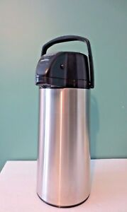 New 2 2 Liter Zojirushi Air Pot W Easy Serving Lever Pump System Aasb 22sb
