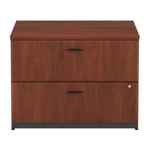 Hanson Cherry Assembled Lateral File Cabinet Series A id 2540