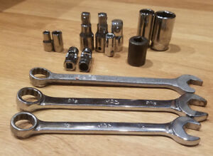 Matco Misc Lot Of Tools Made In U S A Quality Sockets Wrenches