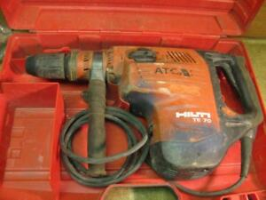 Hilti Te70atc Rotary Hammer Drill Demolition With Case