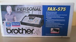 New in box Brother Fax 575 Fax Copier Phone Machine Free Shipping