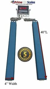 40 Bar Scale 2 500 Lb Livestock Scale Preifert Chute Weigh Bars Cattle Scale
