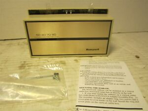 Honeywell T874c1018 Multi Stage Low Voltage Thermostat 2 Stage Heat 1 Stage Cool
