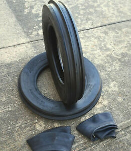Two 500x15 500 15 5 00x15 5 00 15 John Deere 3 Rib Tractor Tires W tubes