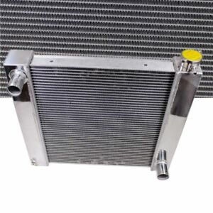For Chevy Aluminum Universal Radiator 21 X 19 X 3 Gm Outlets Hot Street Rod
