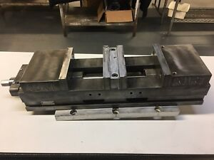 Kurt Vise Vice Dl600c Double Lock With Centering Plate