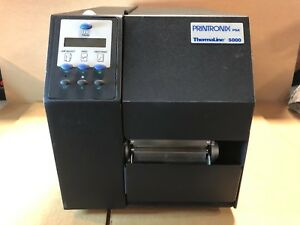 Printronix Psa Thermaline Barcode Label Printer 5000 Series Model T5304