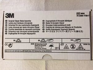 3m Surgical Clipper Blade Assembly Ref 9660 Box Of 50