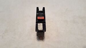 Federal Pacific Fpe Na Na115 1 Pole 15 Amp Circuit Breaker Red Handle