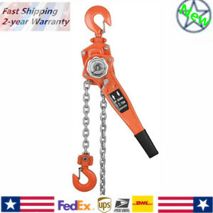 1 1 2ton 5 10 20 Ft Lever Block Hoist Chain Ratchet Comealong Puller Pulley Gear