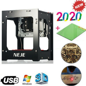 Neje Dk 8 kz 1000mw 3d Usb Laser Engraver Cutter Auto Carving Machine Printer